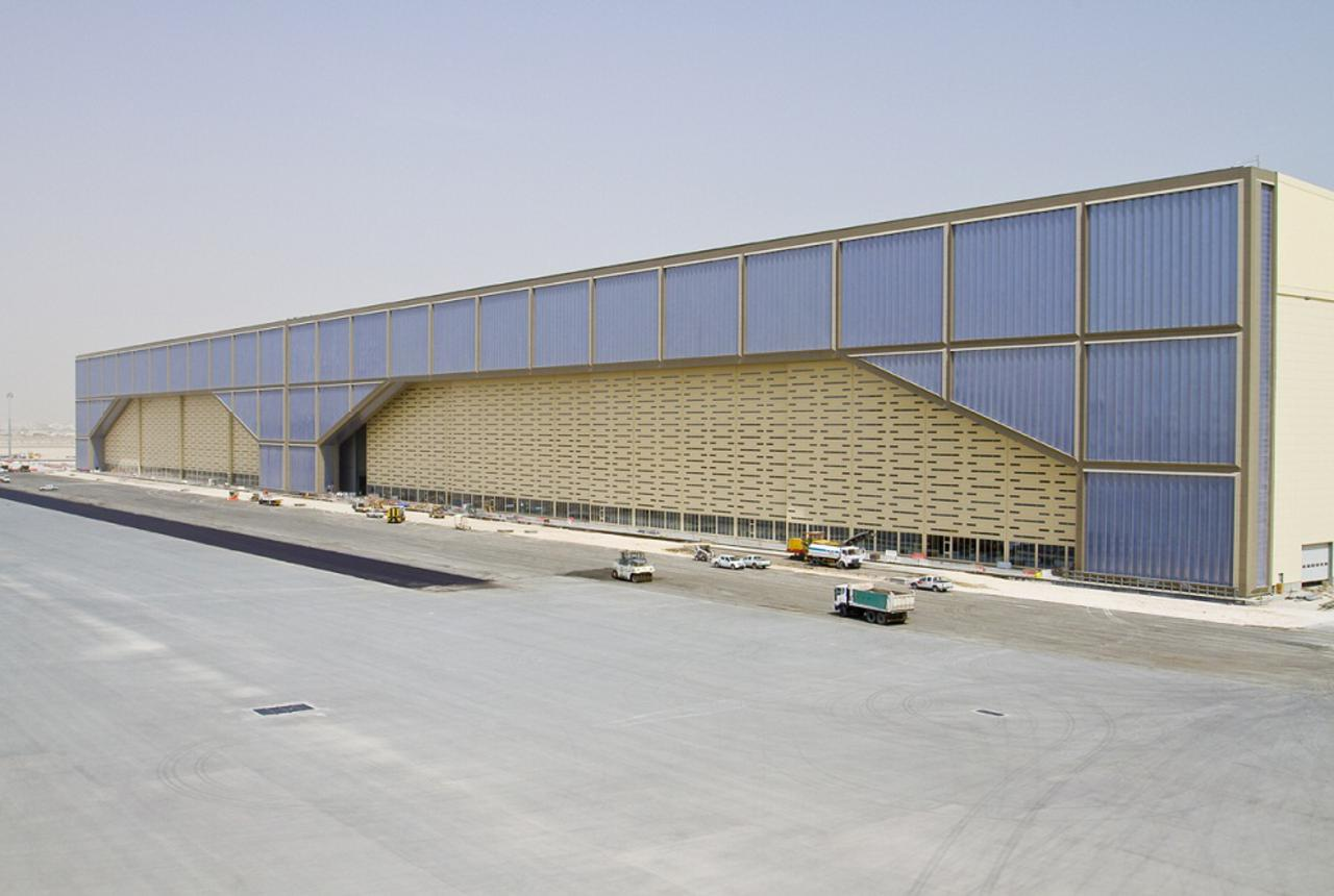 New Doha Int Airport Aircraft Maintenance Cp26 Projects