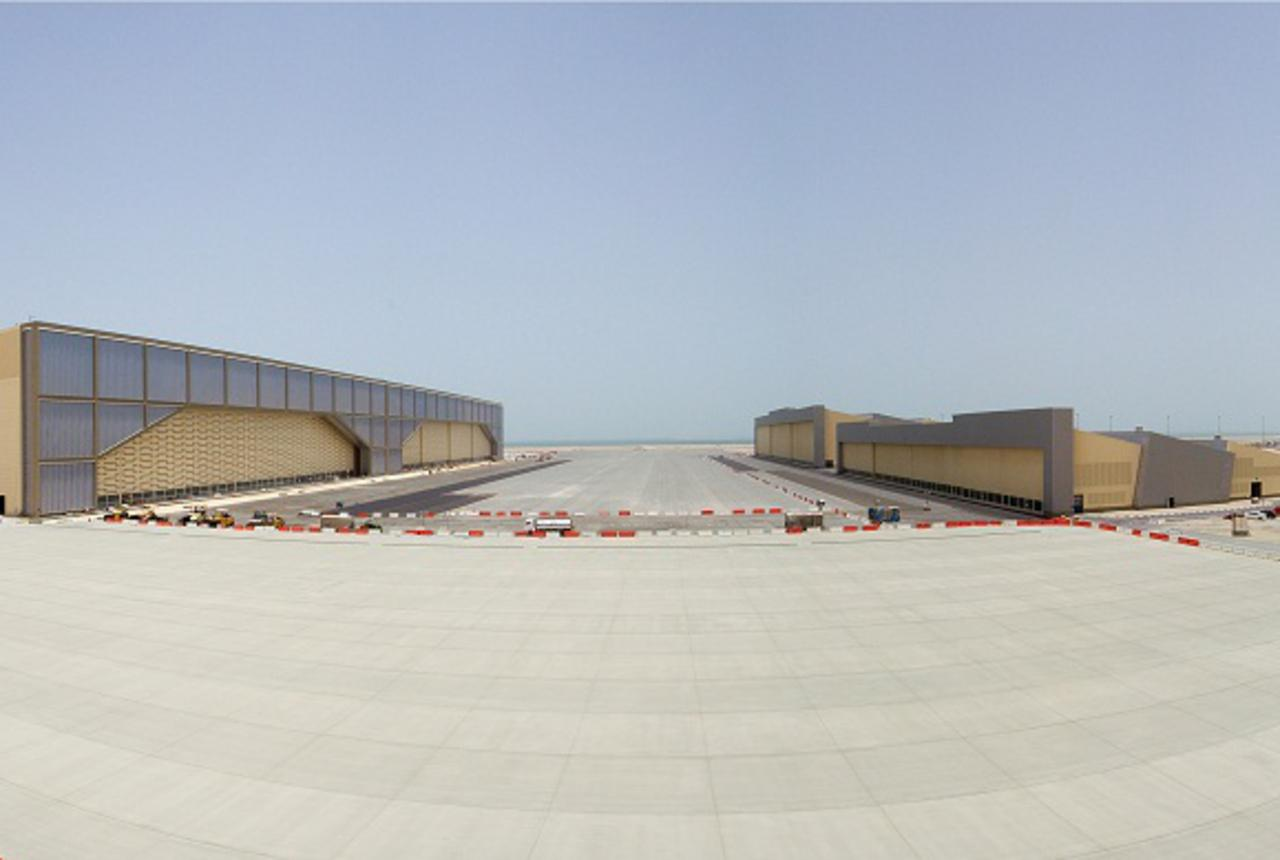 Hamad International Airport Aircraft Maintenance Hangar