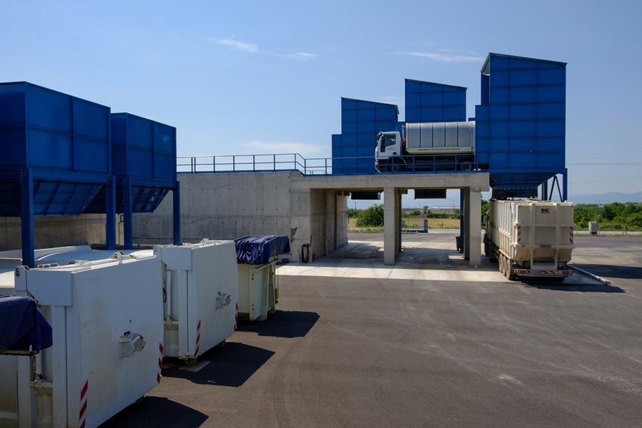 Σταθμός Μεταφόρτωσης Απορριμμάτων Κοζάνης